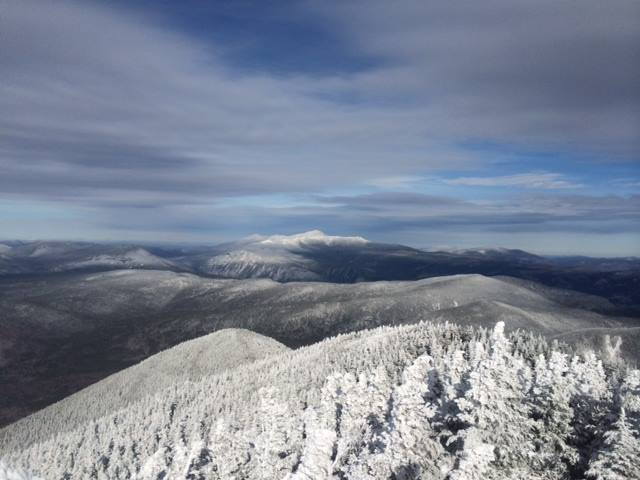 View of Washington from Carrigain fire tower